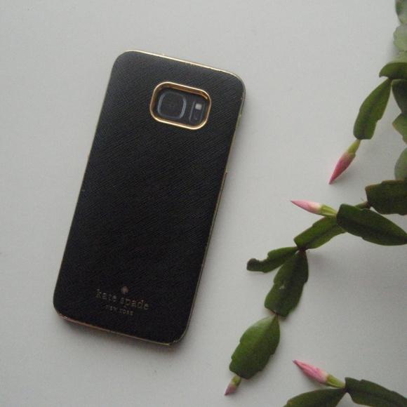 kate spade | Black & Gold Samsung Galaxy Wrap Case